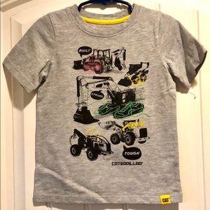 NWOT Caterpillar Built Strong Tough T-Shirt